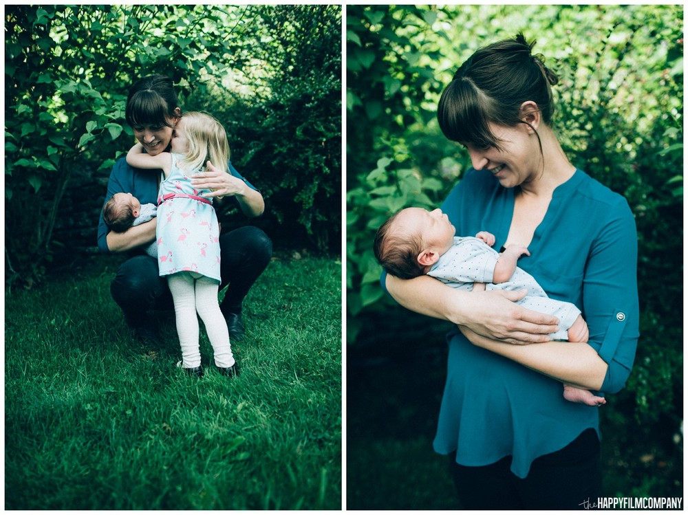 Mom and 2 beautiful kids -the Happy Film Company - Seattle family photos