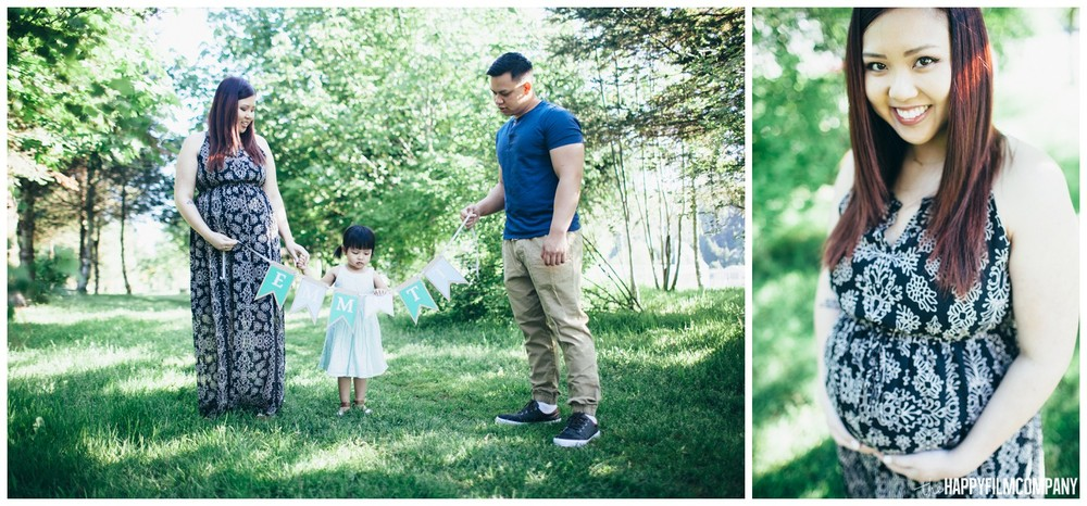 Seattle Mother's day photoshoot at Sammamish River trail in Woodinville - the Happy Film Company - Seattle Family  Photography