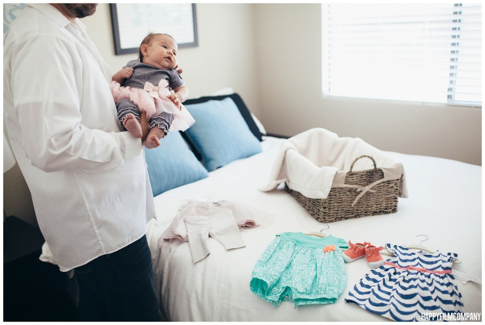 Behind the scene- Seattle Newborn Photos - the Happy Film Company - Seattle family photos