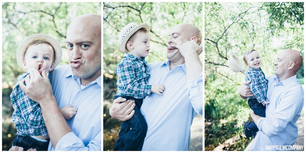 Father and Son bonding - the Happy Film Company - Seattle Family Photos
