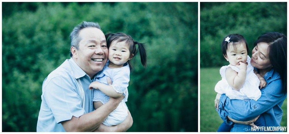 Grand parents with little girls -the Happy Film Company - Seattle Family Photos