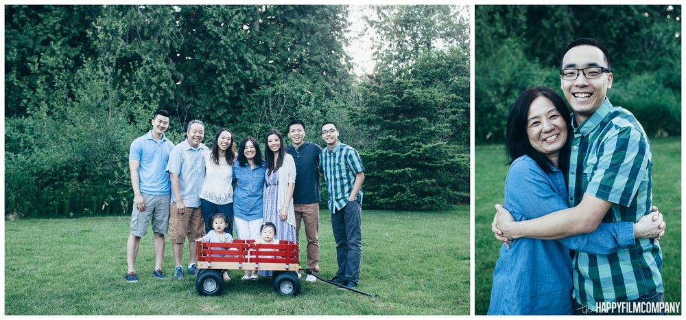 Seattle Family Reunion - the Happy Film Company - Seattle Family Photos
