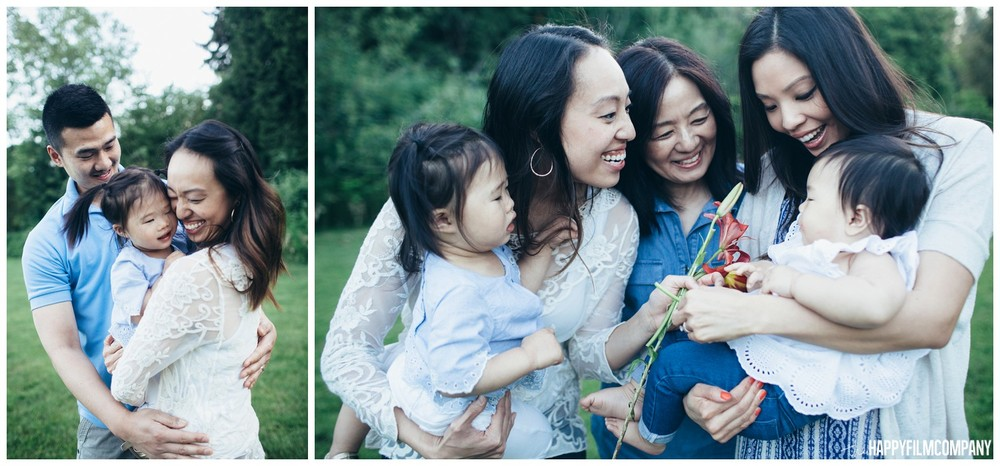 Seattle Family Reunion Photography - the Happy Film Company - Seattle Family Photos