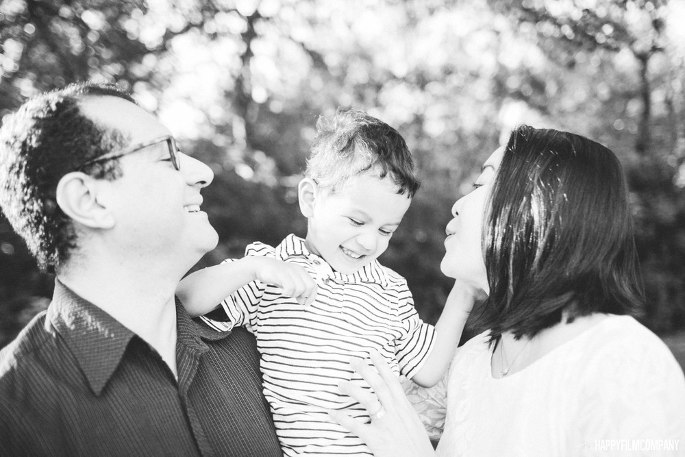Black and white family photos - the Happy Film Company - Seattle Family Photos