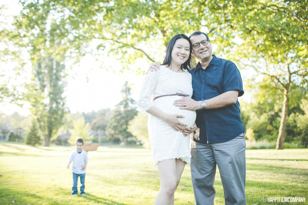 Seattle Maternity Photography Session -the Happy Film Company - Seattle Family Photos