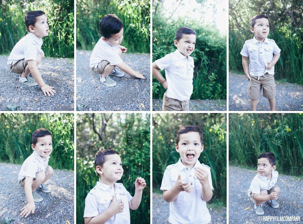 Little boy playing in the ground - the Happy Film Company - Seattle Family Photos