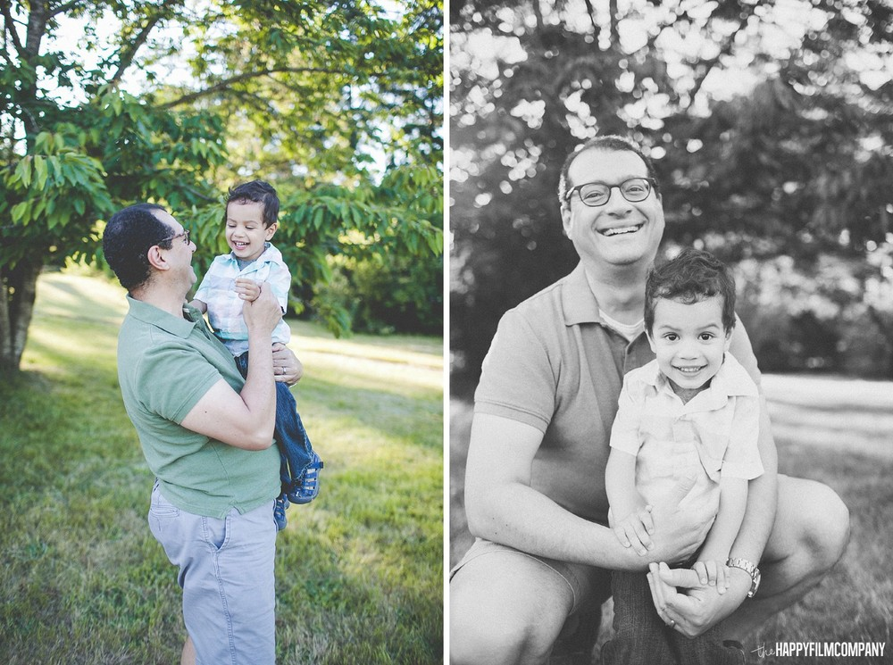 Father's Day Mini shoot at Kelsey Creek Farm in Bellevue - the Happy Film Company - Seattle Family Photos