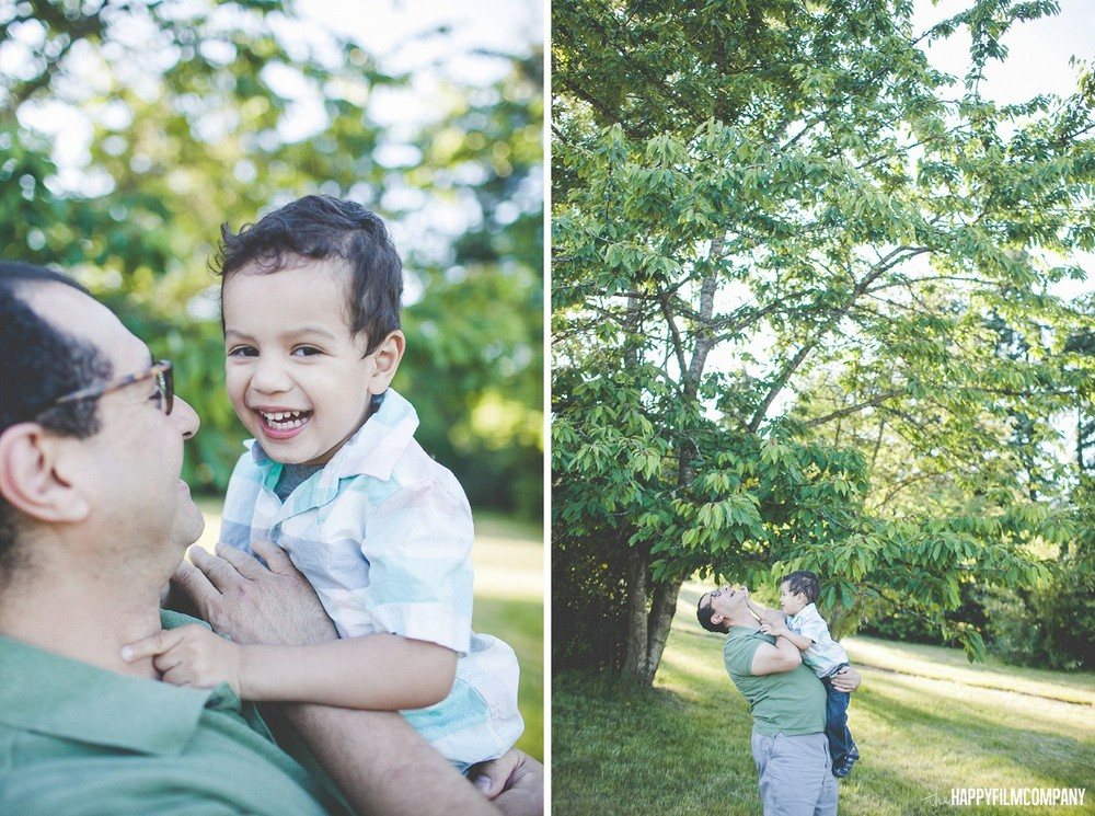 Father and son bonding on father's day -  the Happy Film Company - Seattle Family Photos