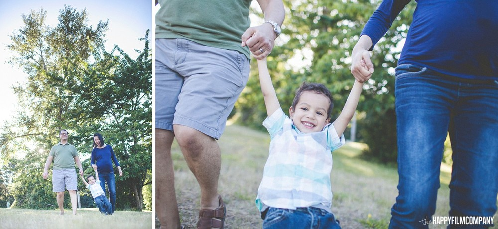 Mom and Day with their little boy on Father's Day -  the Happy Film Company - Seattle Family Photos