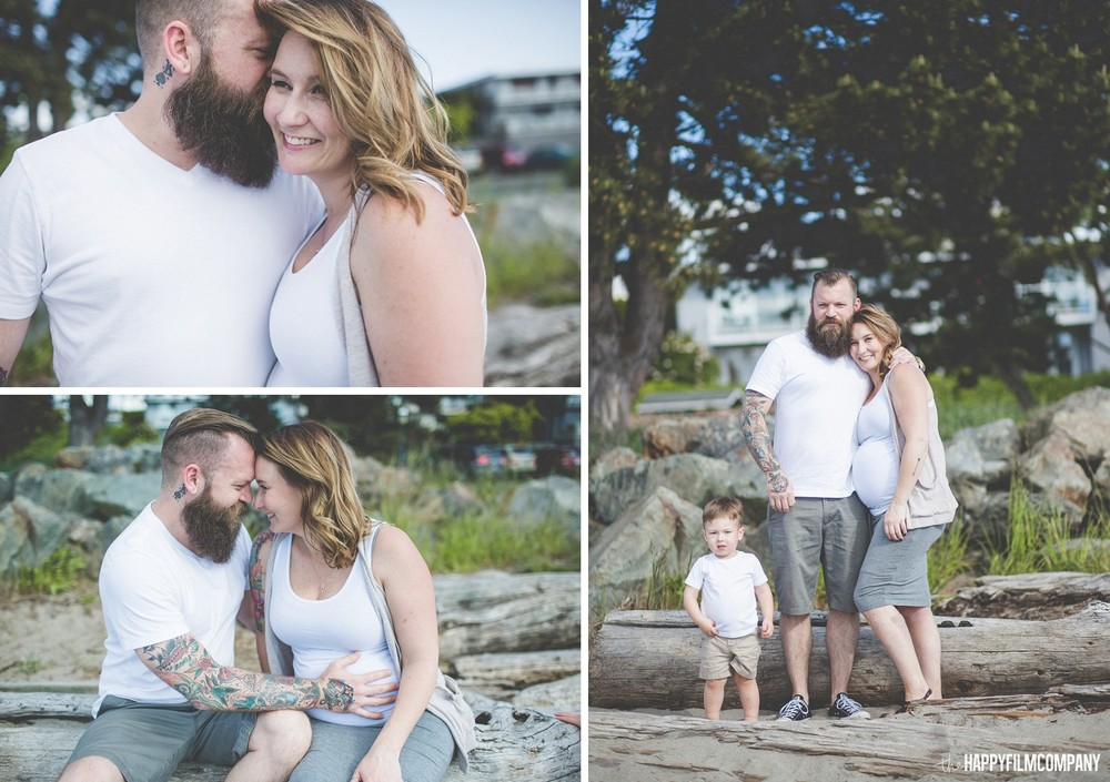 Maternity Photography Session - the Happy Film Company - Seattle Family Photos