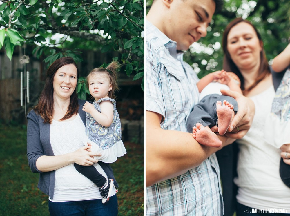 Seattle Family garden photoshoot -  the Happy Film Company - Seattle Family Photos