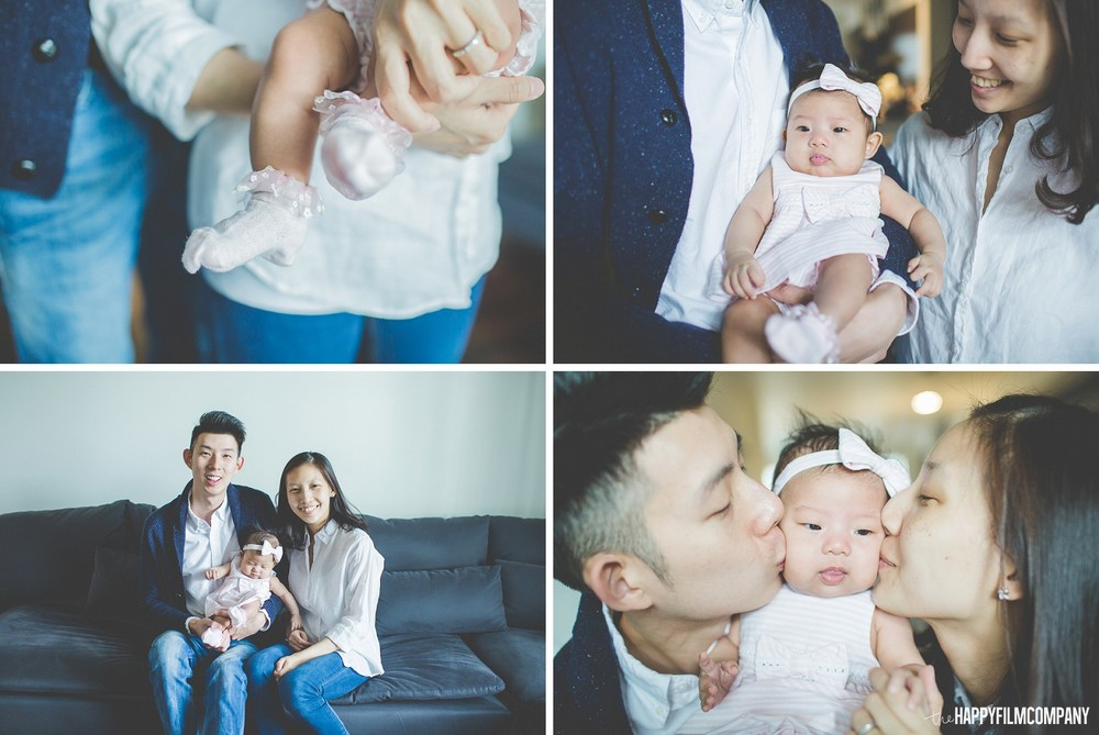 Newborn Photography Session - the Happy Film Company - Seattle Family Photos