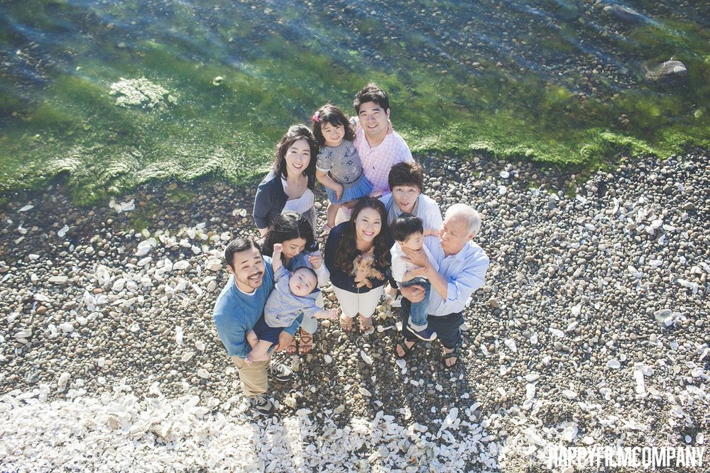 By the Beach Family Photos at Hood Canal - the Happy Film Company - Seattle Family Photos