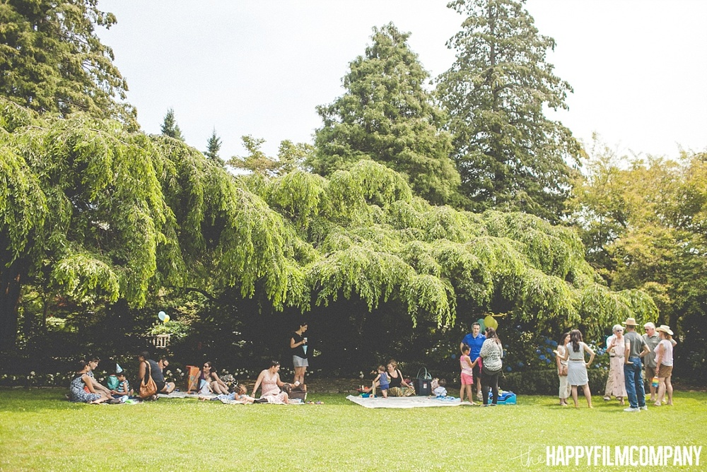 Birthday party celebration at the Private Garden in Queen Anne, Seattle - the Happy Film Company - Seattle family photos