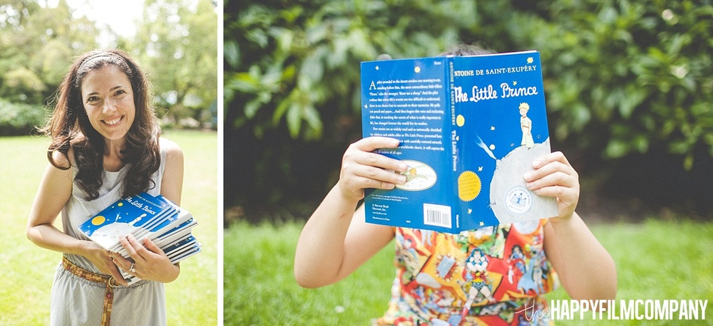The Little Prince books - Party Ideas - the Happy Film Company - Seattle family photos