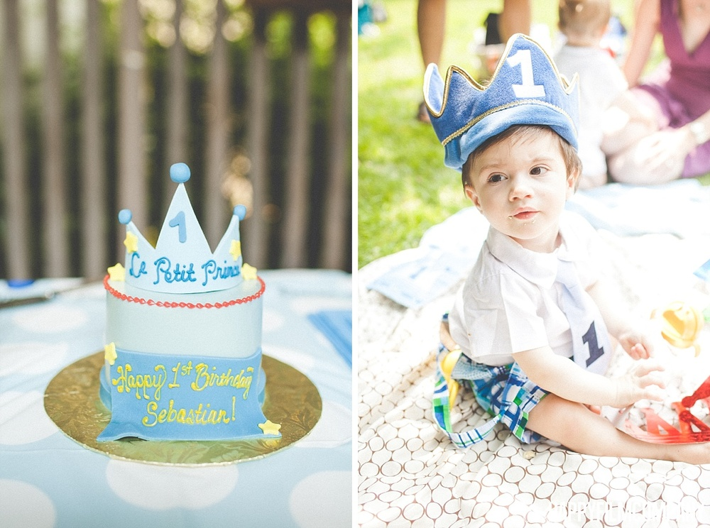 Seattle Kids Birthday Photography Sebastians Little Prince Themed