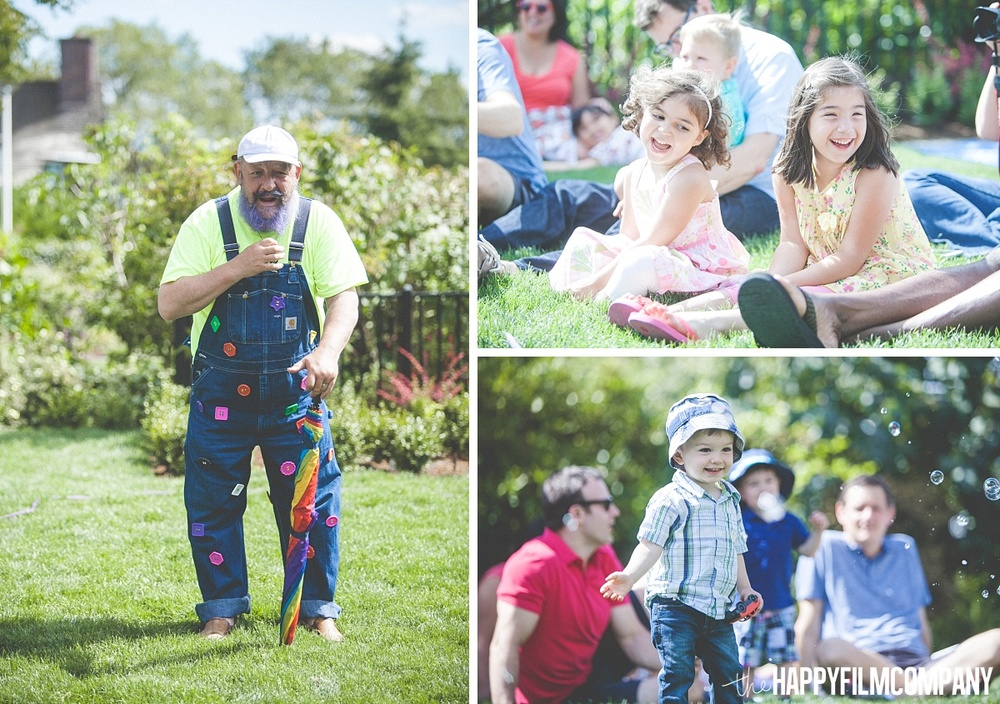 The Bubble Man SHow - the Happy Film Company- Seattle Family Photos