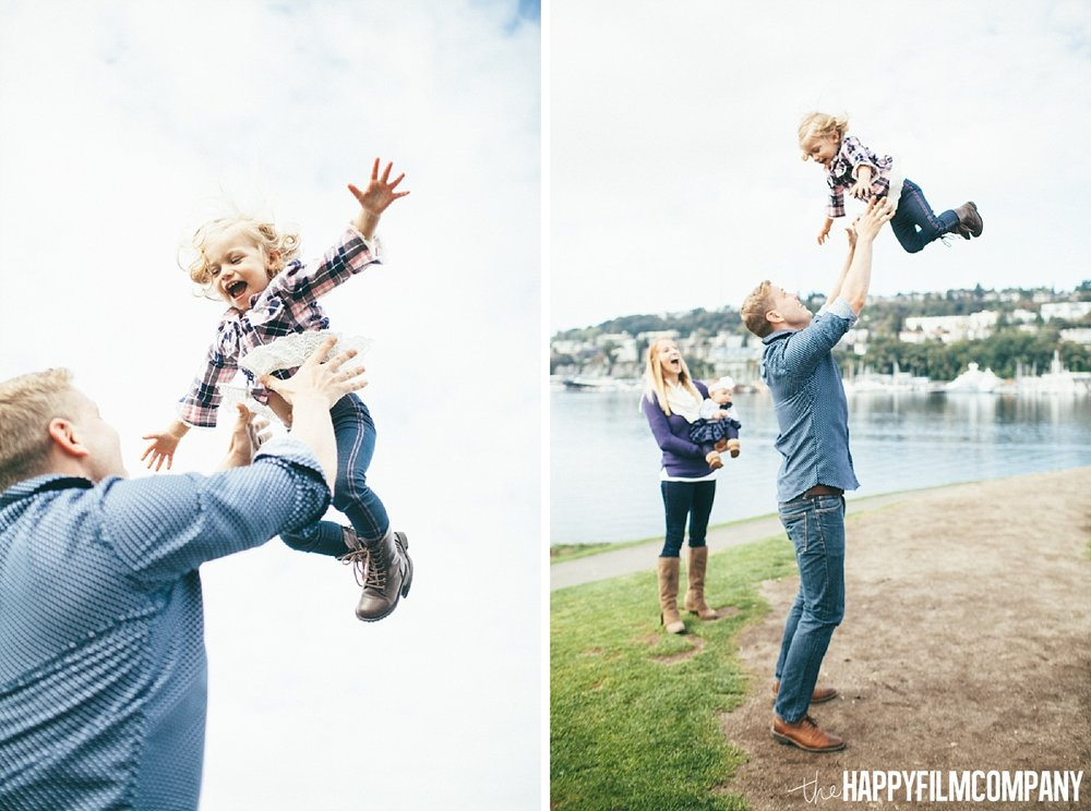 Seattle family photos by the lake - the Happy Film Company - Seattle Family Photos
