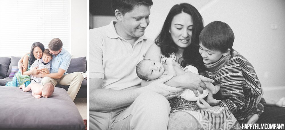 Seattle Newborn Photography Session - - the Happy Film Company - Seattle Family Photos
