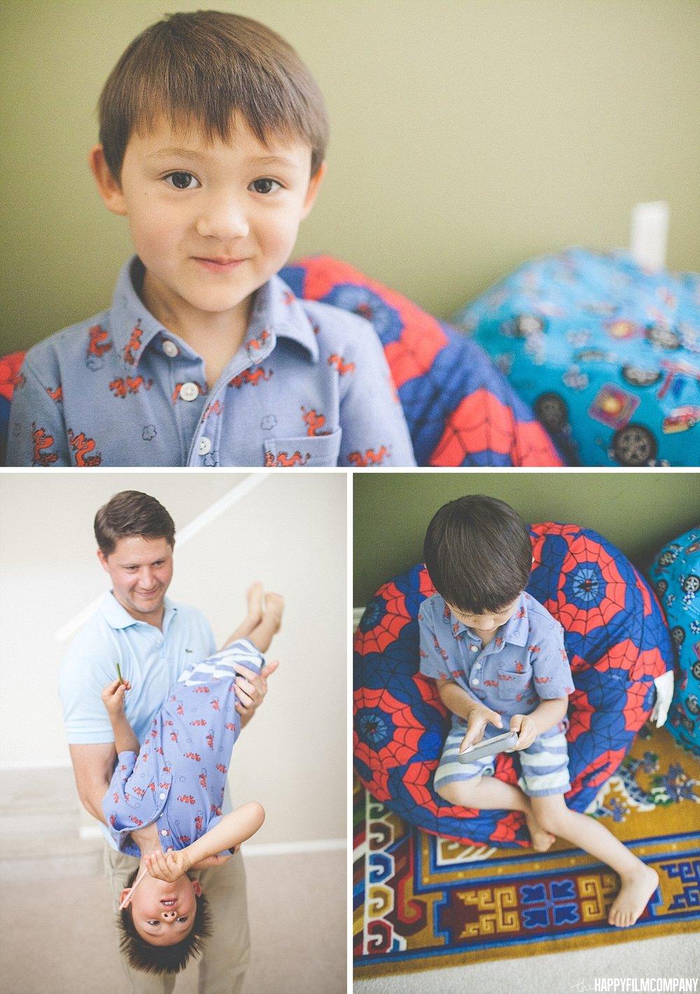 Little boy portrait - - the Happy Film Company - Seattle Family Photos