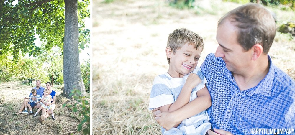 Father and Son Portrait -  the Happy Film Company - Seattle Family Photos