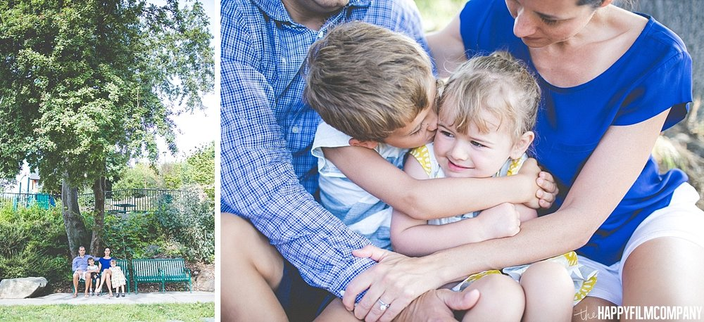 Tight hugs -  the Happy Film Company - Seattle Family Photos