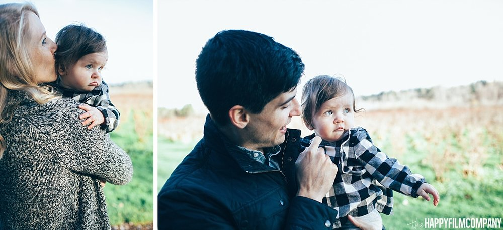 Little boy with mom and day - the Happy Film Company - Seattle Family Photos