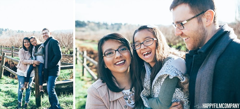 Winter Blueberry Farm Family  Photos - the Happy Film Company - Seattle Family Photos