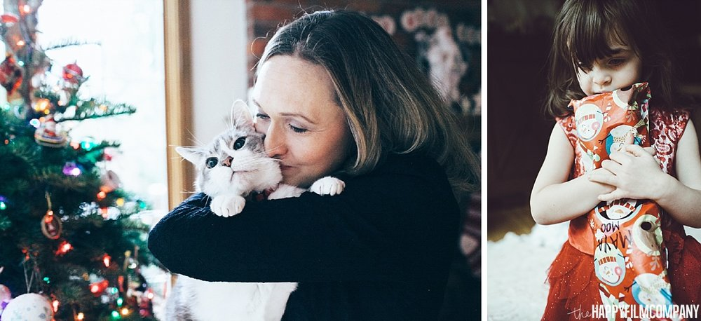 family photos with pets - the Happy Film Company - Seattle Family Photos