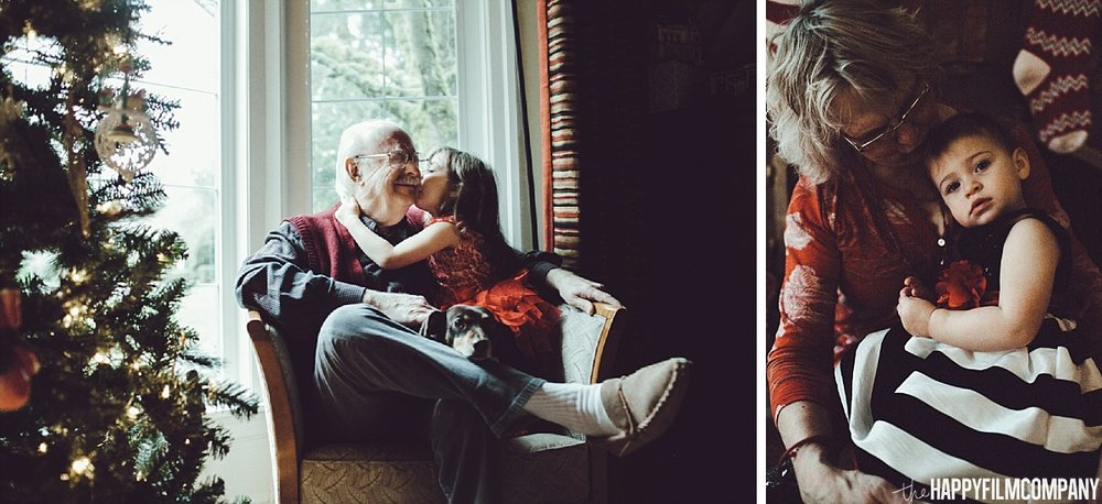 Little girls bonding with Grandparents -the Happy Film Company - Seattle Family Photos