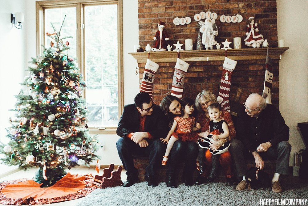 Family photos at home - the Happy Film Company - Seattle Family Photos