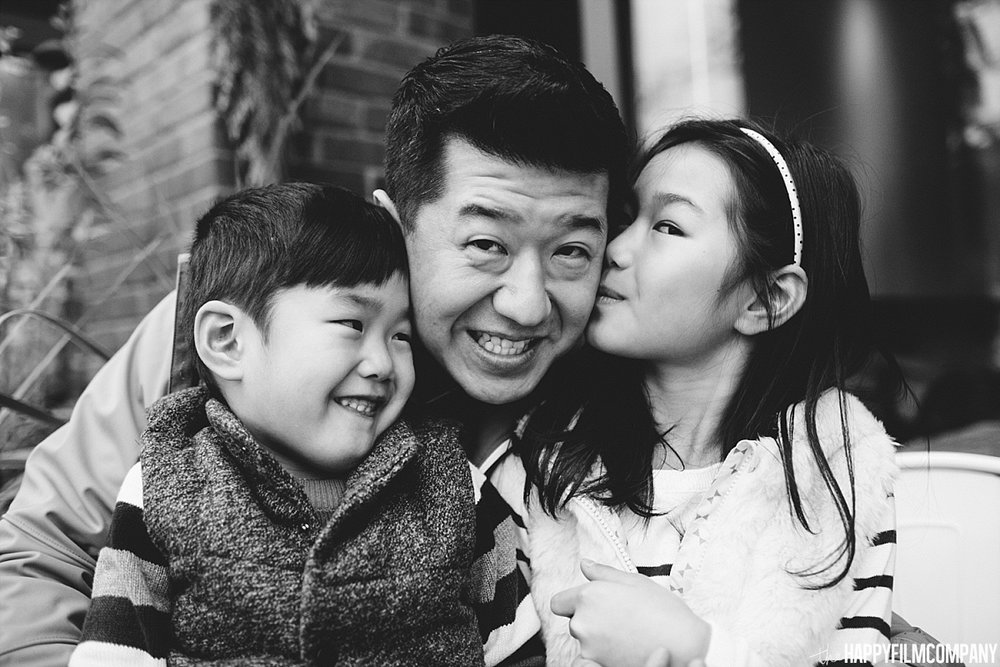 Black and white portrait - - the Happy Film Company - Seattle Family Photos