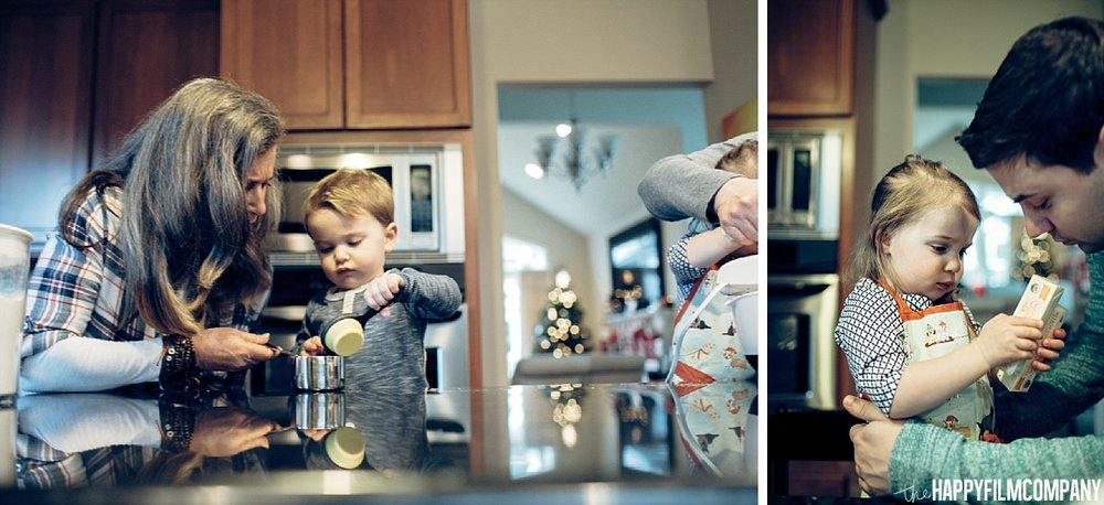 Baking Cookies- the Happy Film Company- Seattle Family Photos