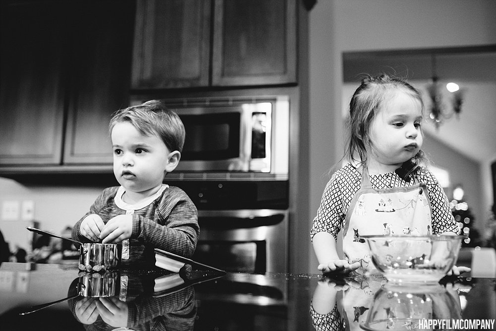 Black and white portrait -  the Happy Film Company- Seattle Family Photos