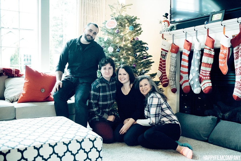 Christmas Photos -  the Happy Film Company- Seattle Family Photos