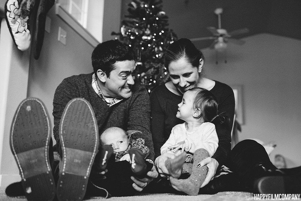 Christmas family photos -  Happy Film Company - Seattle Family Photos