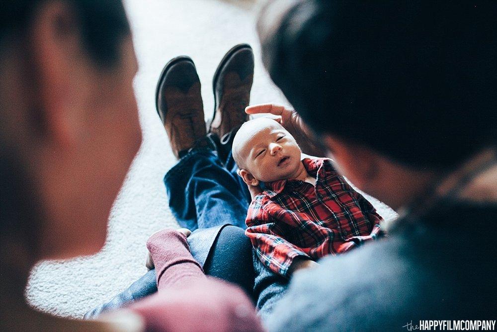 Newborn Photo shoot -  Happy Film Company - Seattle Family Photos
