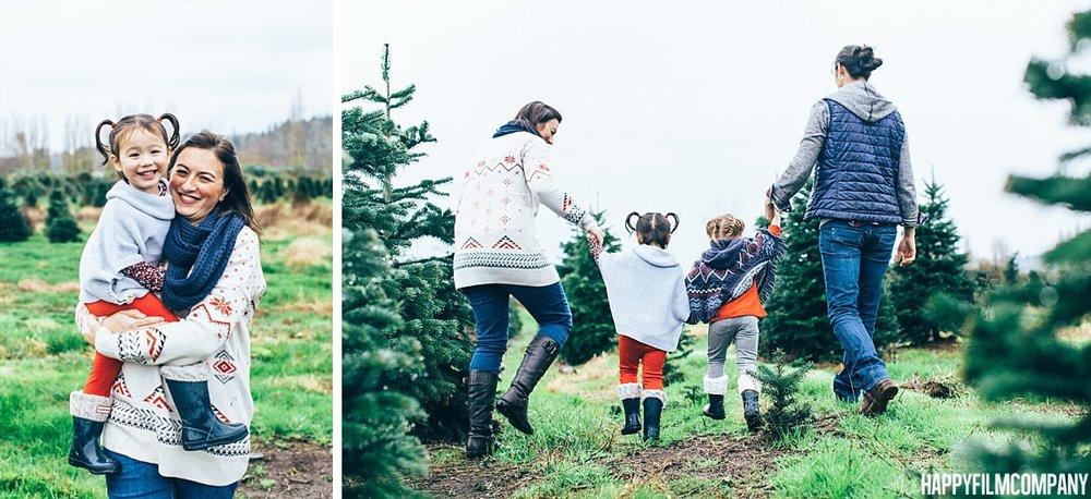 Christmas Tree Farm - the Happy Film Company - Seattle Family Photos