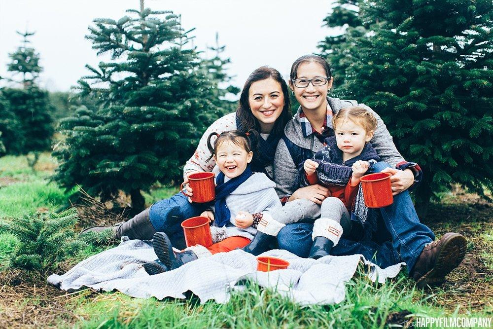 Winter Photo Shoot - the Happy Film Company - Seattle Family Photos