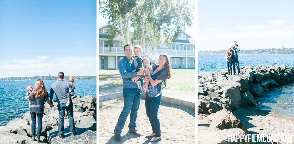 Beach Walk Photo Shoot at Medina Beach Park - the Happy Film Company - Seattle Family Photos