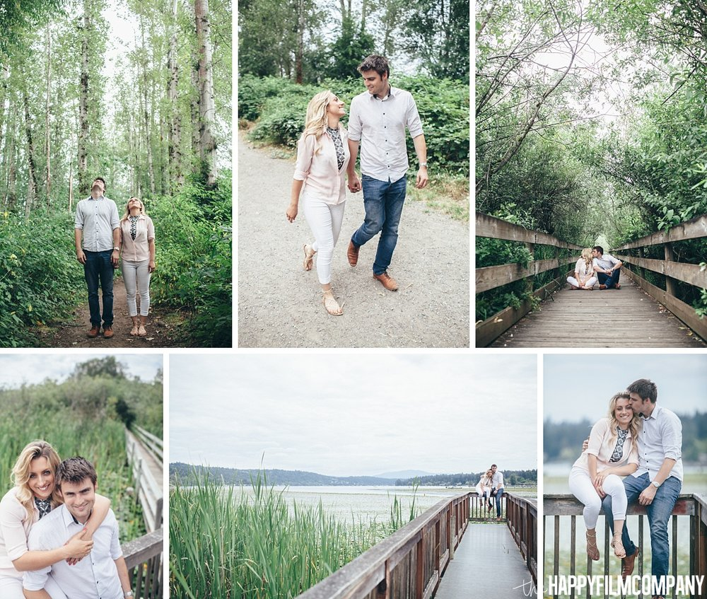 Engagement Photo Shoot Marymoor Dog Park- the Happy Film Company - Seattle Family Photos