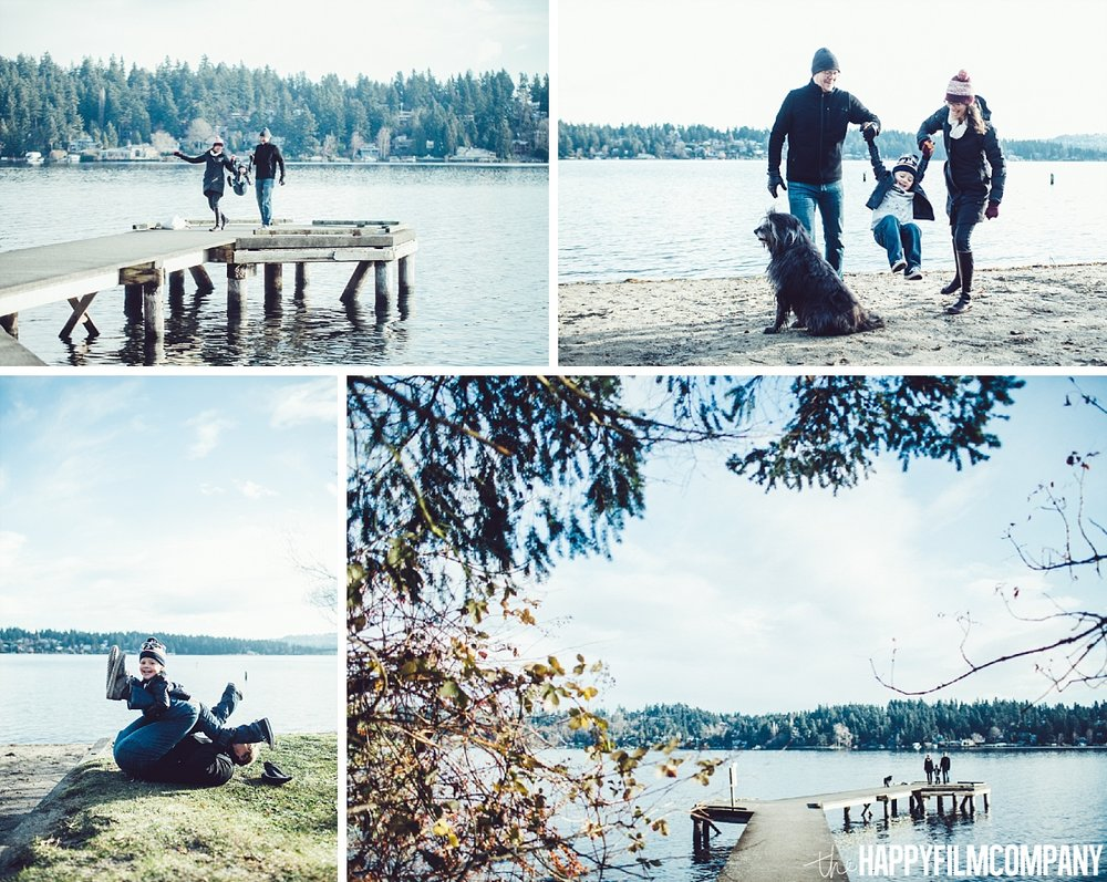 Family Photo Shoot at Luther Burbank Park - the Happy Film Company - Seattle Family Photos