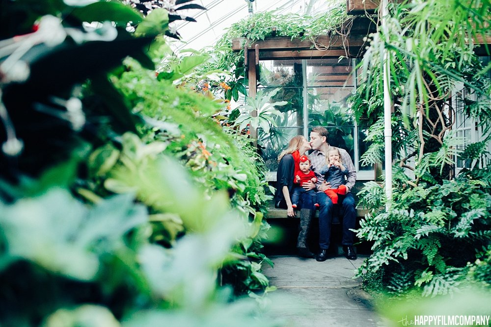 Family Photos at the Volunteer Park Conservatory- the Happy Film Company - Seattle Family Photos