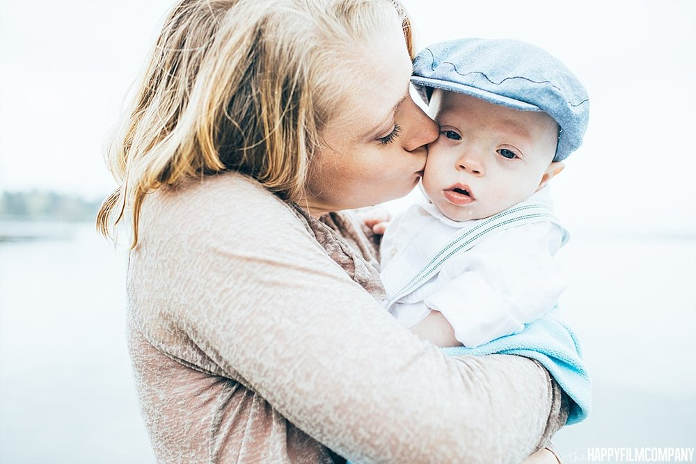 Mother and son portrait - he Happy Film Company - Seattle Family Photos