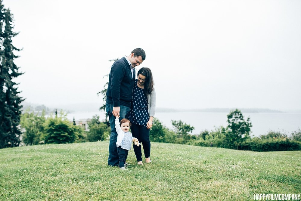Father's day mini session at Heritage Park - the Happy Film Company - Seattle Family Photos