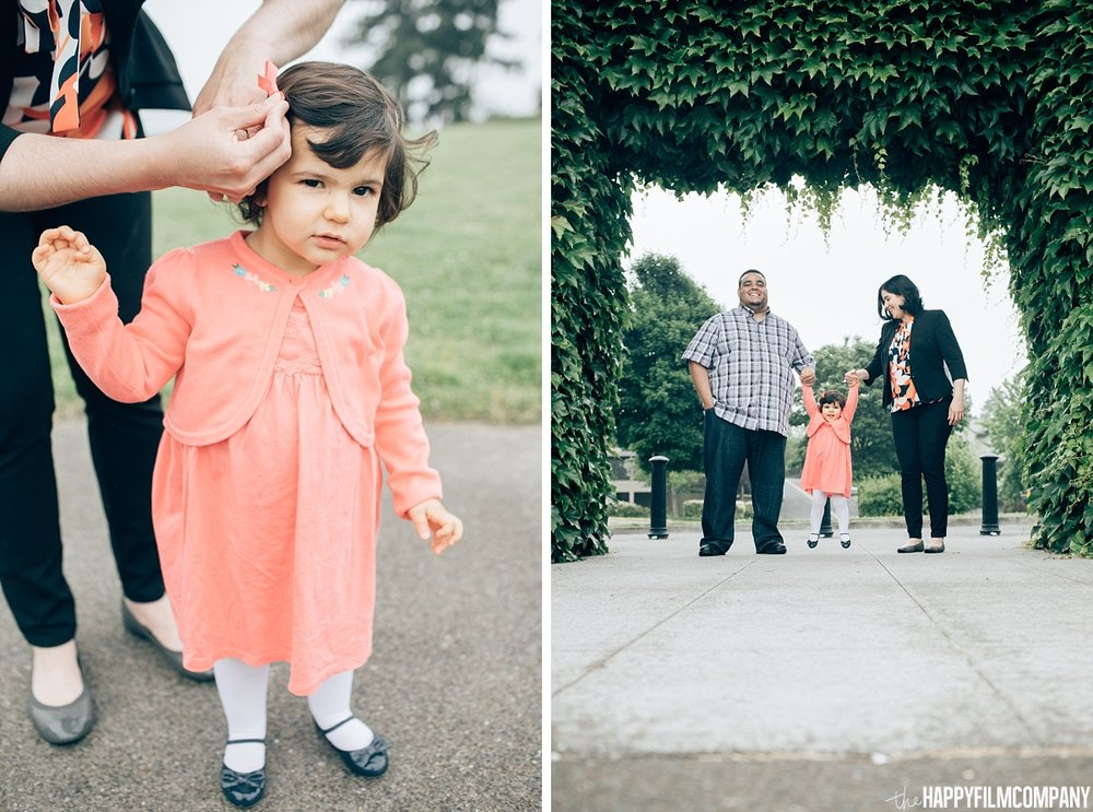 Cute little girl photo - the Happy Film Company - Seattle Family Photos