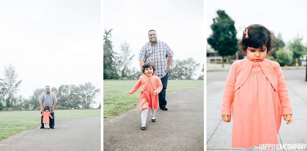 Father and daughter photo - the Happy Film Company - Seattle Family Photos