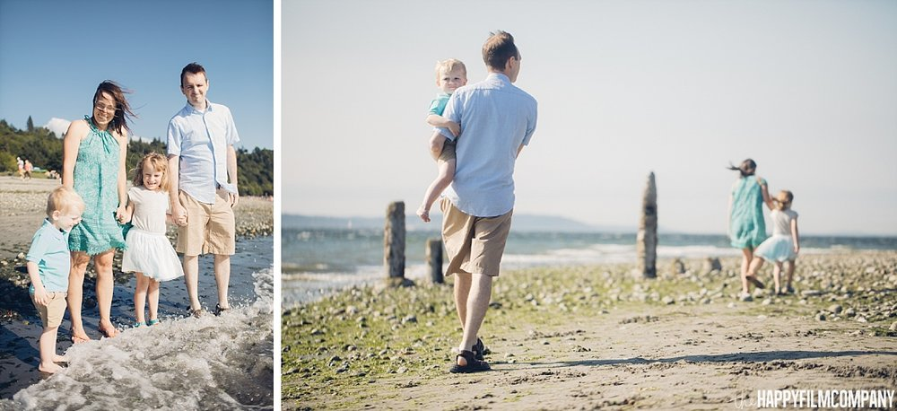 Family photo shoot at the Golden Gardens -the Happy Film Company - Seattle Family Photos