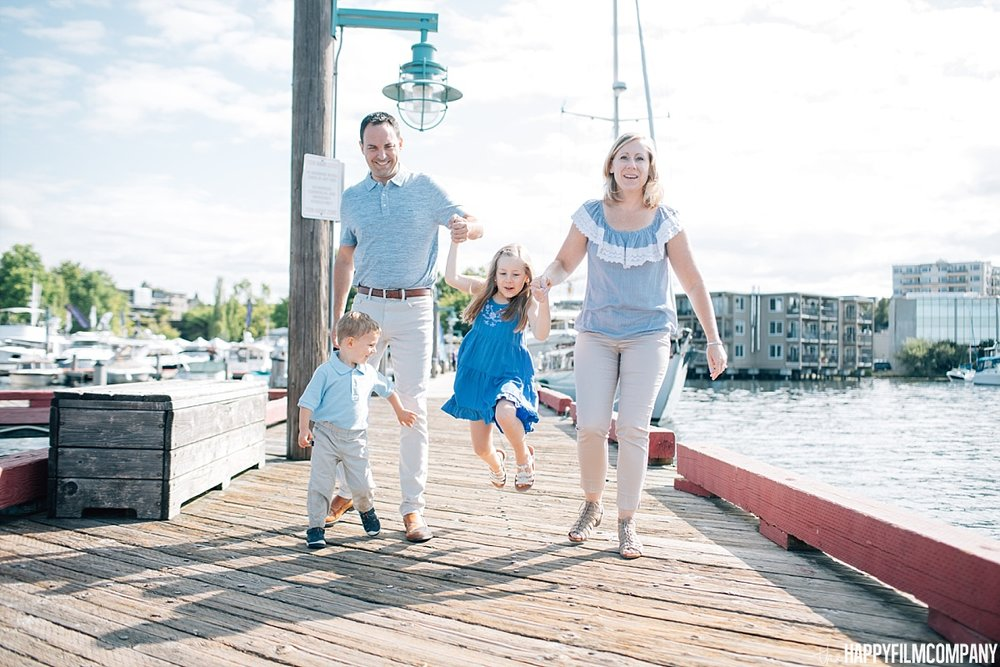 Family Mini Photo Session - Boat Dock - the Happy Film Company - Seattle Family Photos