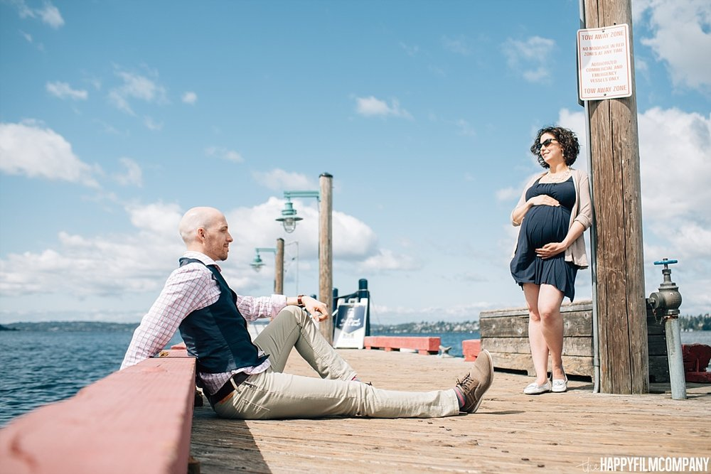 Summer mini session at Marina Bay park -Maternity Photos - the Happy Film Company - Seattle Family Photos